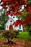 Litet vitt kapell Fotografering för Bildbyråer