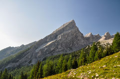 Litet Watzmann berg - Berchtesgaden, Tyskland arkivbilder