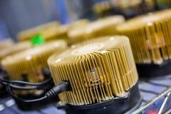 Litetcoin mining Stock Image