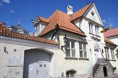 Litewska ambasada w Tallinn Obrazy Royalty Free