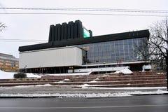Litewska Krajowa opera i teatr baletowy Fotografia Stock