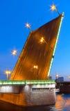 Liteyny Brücke. Petersburg.Russia Stockfotos