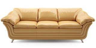 lither kanapy kolor żółty Zdjęcia Royalty Free