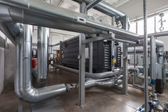 Lithium Bromide Absorption Heat Pump Royalty Free Stock Image