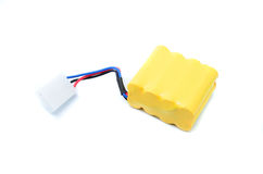 Lithium-ion polymer rechargeable battery (abbreviated as LiPo, LIP, Li-poly) Royalty Free Stock Image