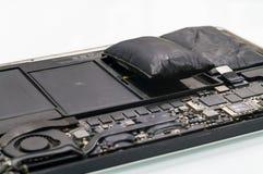 Lithium-Ionen-Batterie, die erweitert hat lizenzfreies stockbild