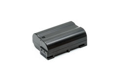 Lithium noir Ion Battery Pack Isolated Images stock