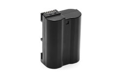 Lithium noir Ion Battery Pack Isolated Image stock