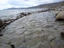 Lithoidal побережье Стоковое фото RF