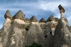 Lithoidal idols of Cappadocia Royalty Free Stock Images
