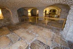 Lithostrotos à Jérusalem Photo stock