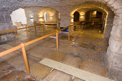 Lithostrotos no Jerusalém Fotos de Stock Royalty Free