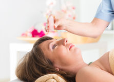 Lithotherapy Stock Photography