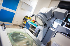 Lithotripsy in hospital Stock Images