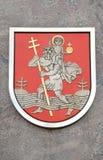 Lithuania capital Vilnius town symbol Stock Images