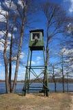 Lithuania, Druskininkai, Grutas Park. Watchtower. Royalty Free Stock Images