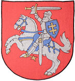 Lithuania Emblem stock images