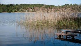 Lithuania lake Stock Photos