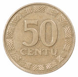50 Lithuania lit Royalty Free Stock Photography