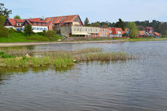 Lithuania. Nida's type from the Curonian Bay Stock Photo