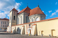 Lithuania: Old church in Kaunas. Royalty Free Stock Photos