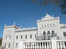 lithuania pałac skok do wody Zdjęcia Stock