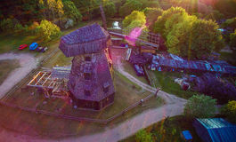 Lithuania ruins and ancient Stock Image