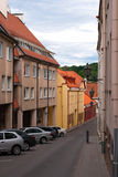 Lithuania. Street in the historical center of Vilnius Royalty Free Stock Photos