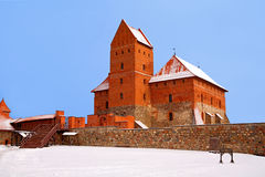 Lithuania,Trakai fortress Royalty Free Stock Images