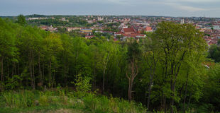 Lithuania. Vilnius Old Town in the spring Stock Photos