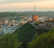 Lithuania. Vilnius Old Town in the spring Royalty Free Stock Photo