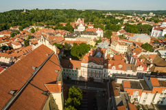 Lithuania. Vilnius Old Town in the summer Stock Image