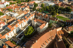 Lithuania. Vilnius Old Town in the summer Royalty Free Stock Photography