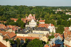 Lithuania. Vilnius Old Town in the summer Stock Photo