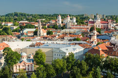 Lithuania. Vilnius Old Town in the summer Stock Photography