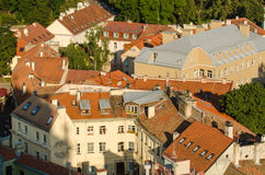 Lithuania. Vilnius Old Town in the summer Royalty Free Stock Photo
