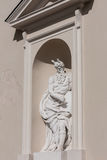 Lithuania. Vilnius. Sculpture at the Cathedral Royalty Free Stock Photo