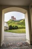 lithuania vilnius vilnius för sikt för stadsområde virsuliskes Vilnius torn av Gedimin Royaltyfri Foto
