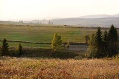lithuanian ландшафта сельской местности осени Стоковые Изображения RF
