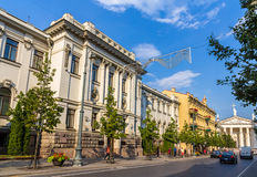 Lithuanian Academy of Sciences Stock Images