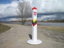 Lithuanian border Stock Photos