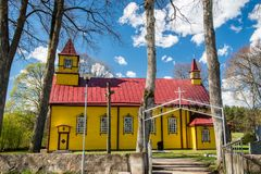 Lithuanian church Royalty Free Stock Photography