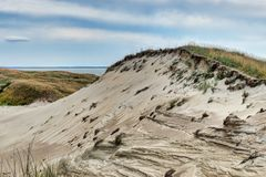 Lithuanian dunes panoramic views Stock Photo