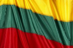 Lithuanian flag Stock Photos