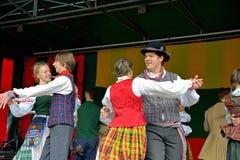 Lithuanian Folk music group Stock Photo
