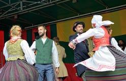Lithuanian Folk music group Poringe Royalty Free Stock Photos