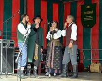 Lithuanian Folk music group Poringe Royalty Free Stock Images
