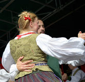 Lithuanian Folk music group Poringe in Brussels Royalty Free Stock Photos