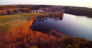 Lithuanian landscape Royalty Free Stock Photo