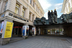 Lithuanian National Drama Theatre Royalty Free Stock Images